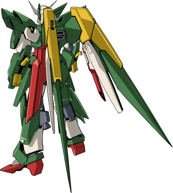 File:Wing Gundam Fenice Rinascita - MS Mode Back.png