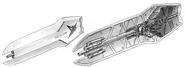 Nu Gundam - Shield