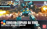 Hg Gundam Leopard da Vinci