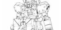 RX-121-1 Gundam TR-1 (Hazel Custom) w/Sub Arm Unit