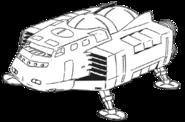 Space-boat-hulke