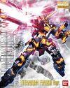 MG Unicorn Gundam 02 Banshee Titanium Finish