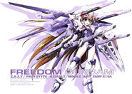 Freedom Gundam girl