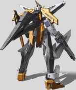 GN-003 Gundam Kyrios Rear