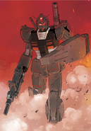 Black Local Type Gundam manga 2