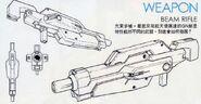 GNY-001 - Gundam Astraea - GN Beam Rifle