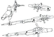 Lightning Gundam Beam Rifle (Long Barrel) details