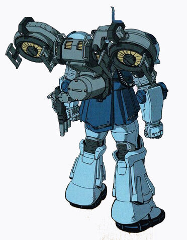 File:MS-07 Gouf (Thunderbolt Version) with Hover Unit's Rear View.jpg