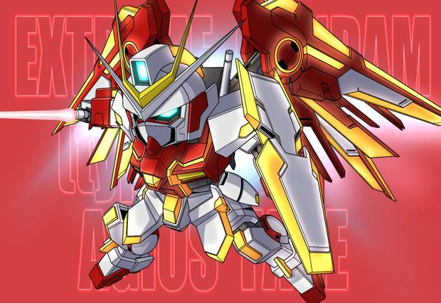 File:Extreme Gundam Agios Phase fanart.jpg