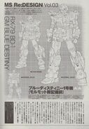 Mobile Suit Gundam The Blue Destiny Re Vol 3