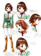 Asuna Concept Art