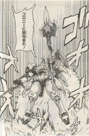 File:The Glory of Losers OZ-00MS Tallgeese with spear.JPG