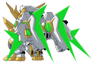 Rear (SD Gundam Mode)