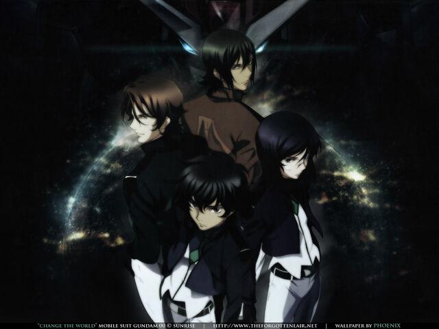 File:Gundam Meister's of Celestial Being.jpg