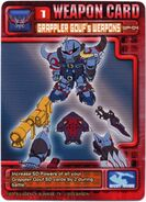 WP-04 ST1 Grappler Gouf's Weapons