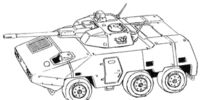 SRA Combat Armored Car A