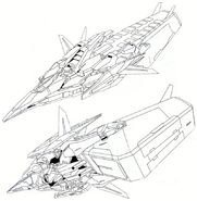 GN-003 - Gundam Kyrios - Tail Unit