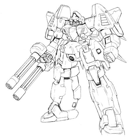 File:MMS-01 Serpent Front View Lineart.jpg