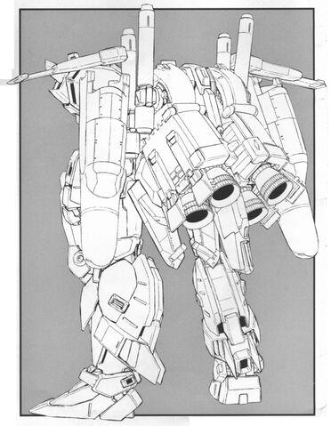 File:MSA-0011(Ext) - Ex-S Gundam - Back View Lineart.jpg