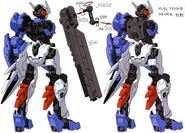 Gundam astaroth Demolition Knife mount