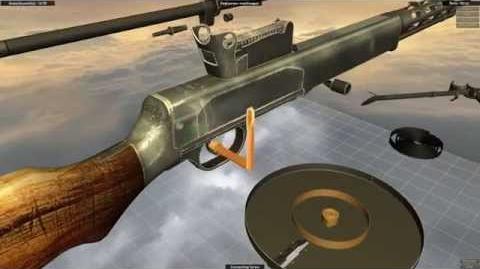 Degtyaryov machine gun