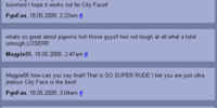 City Face comments