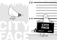 City Face Poster