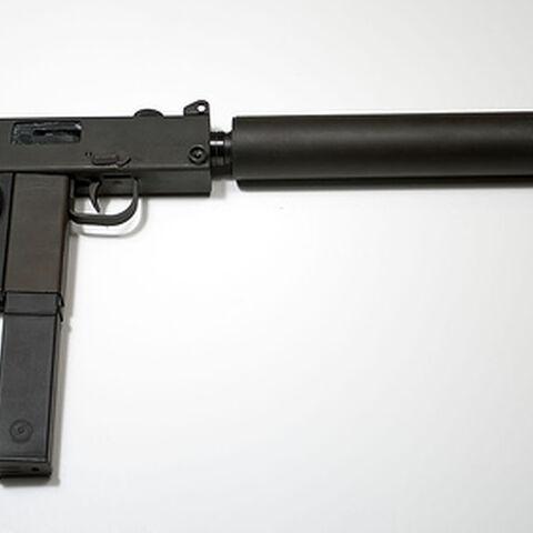 MAC-11 with a suppressor