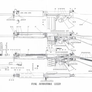 FN FAL schematic