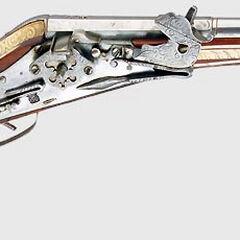 A wheellock pistol.