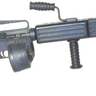an M16A2 LMG