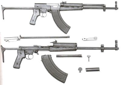 Simonov AKS-91 Stripped