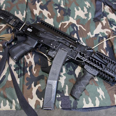 A Vityaz-SN customized with Zenit rails.