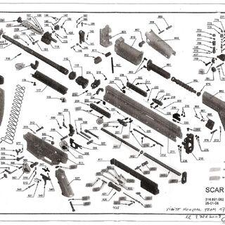 FN SCAR schematic