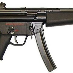 The U.S. Navy variant of the MP5