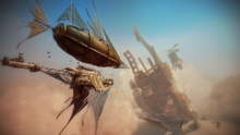 Guns of Icarus Goldfish Screenshot