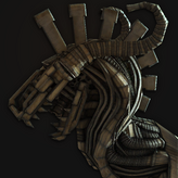 Mechanical Dragon Figurehead