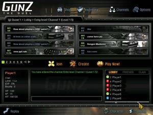 Gunz lobby