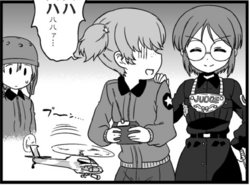 Alisa, Helmet-Chan and Kanon