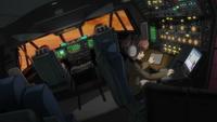 C-5M Super Galaxy's cockpit