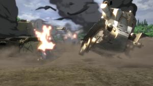 BT-42's final kill.