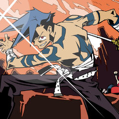 Splash image of Kamina from episode 2