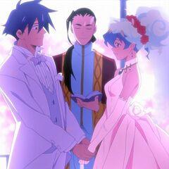 Simon and Nia wedding