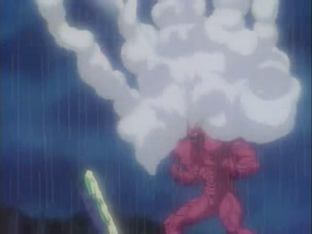File:Gaster firing all of his Liquid Missiles at Guyver III.png