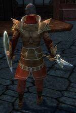 General Morgahn Starter Armor Back