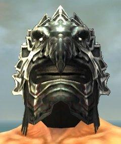 File:Warrior Silver Eagle Armor M gray head front.jpg