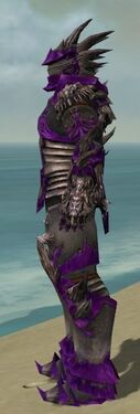 Warrior Primeval Armor M dyed side alternate