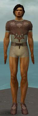 Dervish Sunspear Armor M gray chest feet front
