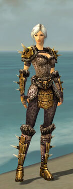 Warrior Elite Charr Hide Armor F nohelmet