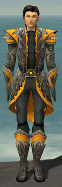 Elementalist Flameforged Armor M dyed front